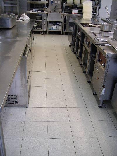 arrière cuisine glissant